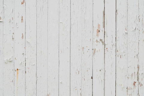 White damaged wood wall Photo