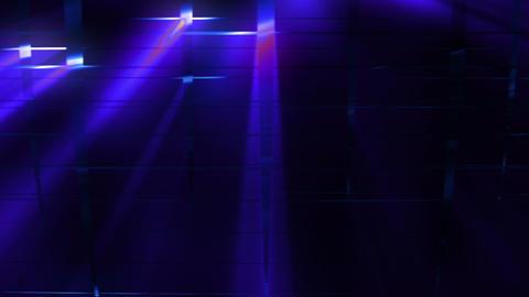 Elegant Grid Light Rays 75 Animation