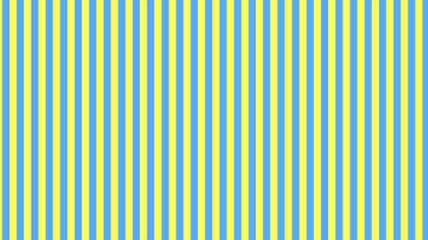 縦のストライプ 黄色と水色 ループ CG動画