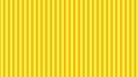 縦のストライプ 黄色 ループ CG動画