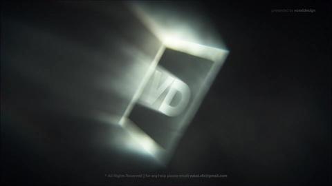 Classic Metallic Shine Logo AE 模板