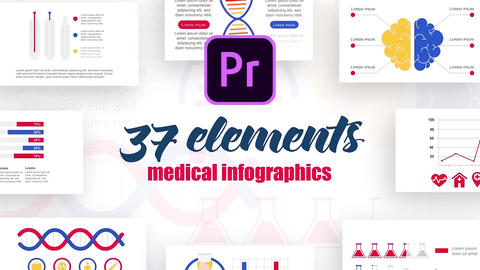 Infographics MOGRT vol.2 Motion Graphics Template