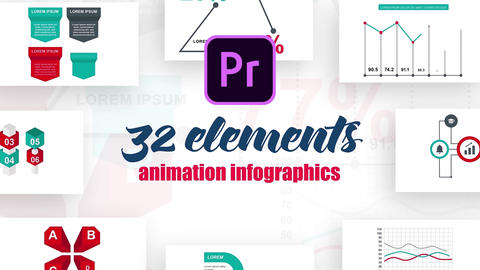Infographics MOGRT vol.15 Motion Graphics Template