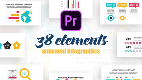 Infographics MOGRT vol.27 Motion Graphics Template
