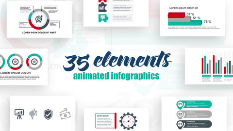 Infographics vol.36 After Effects Template
