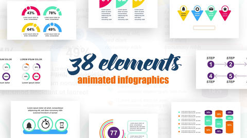 Infographics vol.33 After Effects Template