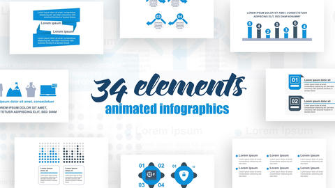 Infographics vol.30 After Effects Template