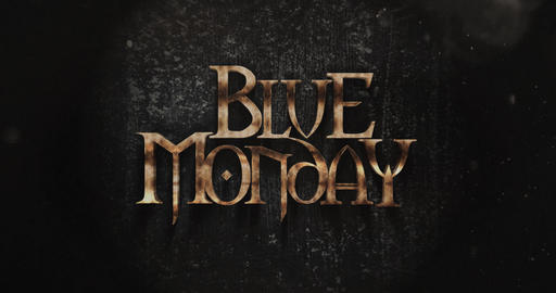 Blue Monday Fantasy Title Design Live Action