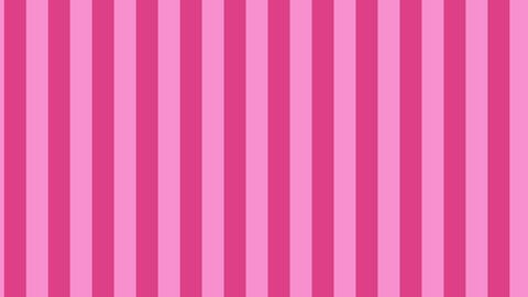 縦のストライプ ピンク 線太い ループ CG動画