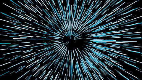 Abstract blue vortex circular lines background.Motion graphic speed looping lines Animation