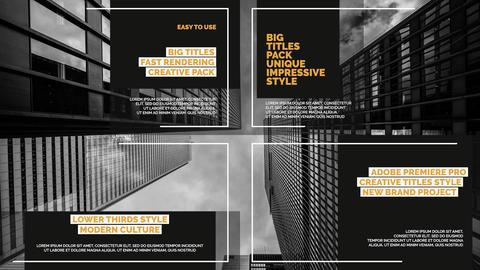 Big Titles Pack v 4 ME Premiere Pro Template
