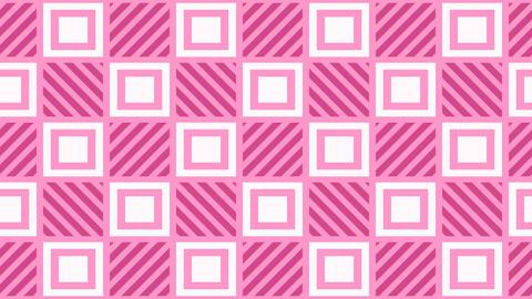 Cute Kawaii Pastel Tile pattern CG動画