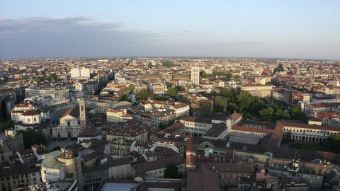 5 Milano Italia City View And Urban Landscape From Sky Live Action