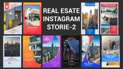 Real Estate Instagram Stories-02 After Effects Template