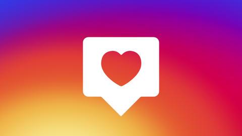 Instagram Like Notification Animation