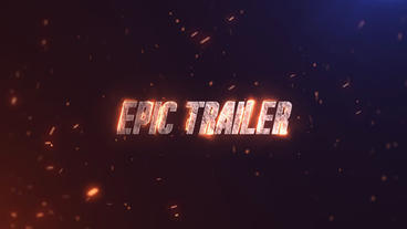 Epic Trailer After Effectsテンプレート