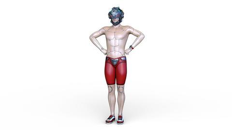 Cyborg Animation