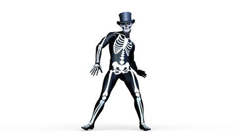 UHD-Skeleton Dancer Animation
