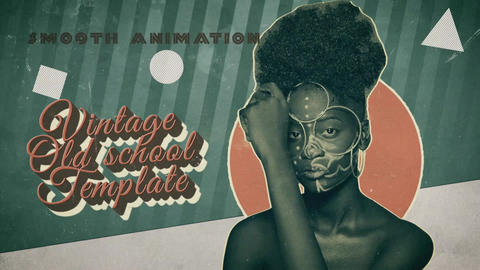 Retro Vintage After Effects Template