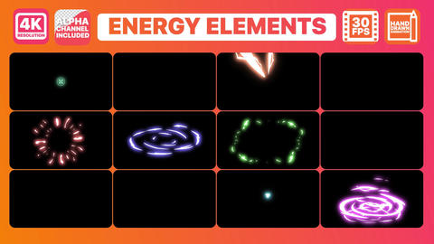 Energy And Titles After Effects Template