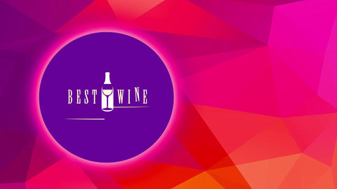 bar restaurant best wine list handling smooth aged printing with elegant container and glassware Animation