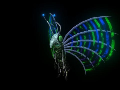Butterfly Robot Batterifly Modelo 3D