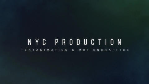 Text animation cinematic title After Effects Template