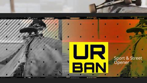 Urban Sport Opener Plantillas de Premiere Pro