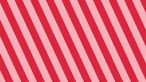 斜めのストライプ 赤 太い ループ CG動画