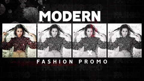 Modern Fashion Promo After Effectsテンプレート