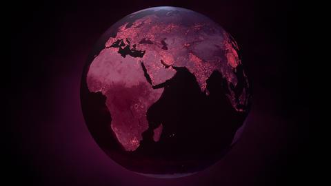 Coronavirus Global Pandemic Spread Animation Animation