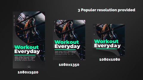 Sports Instagram Stories Apple Motion Template