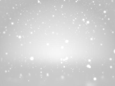 Clean white bokeh glittering abstract background Photo