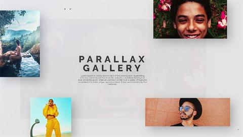Parallax Gallery Premiere Pro Template
