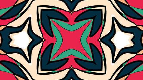 Geometric background Videos animados