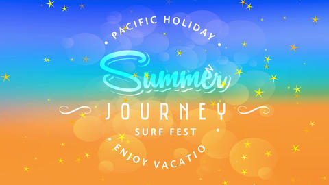 pacific holiday enjoy holiday written around summertime expedition surfboard fest script handling Animation