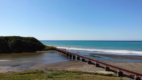 The Hidaka Main Line and Atsubetsu River. The Hidaka Main Line is a railway line in Hokkaido, Japan. Live Action