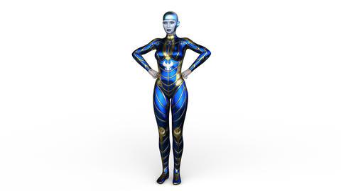 UHD Cyborg Animation