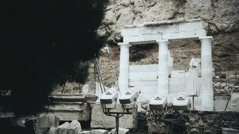 Documentary movie about classical Greek architecture, archaeological excavations Live Action
