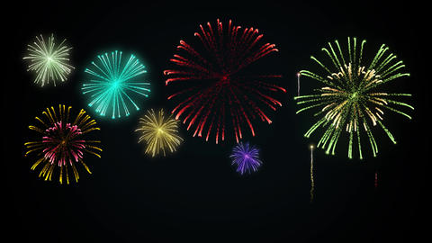 Fireworks CG Animation