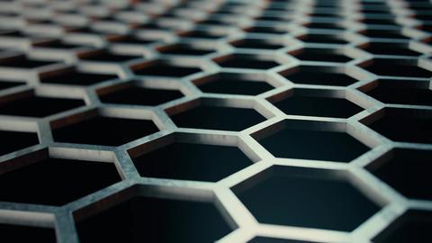 Honeycomb metal structures Live Action
