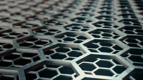 Honeycomb metal structures 2 Live Action