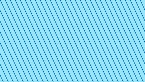 斜めのストライプ 水色 極細 ループ CG動画