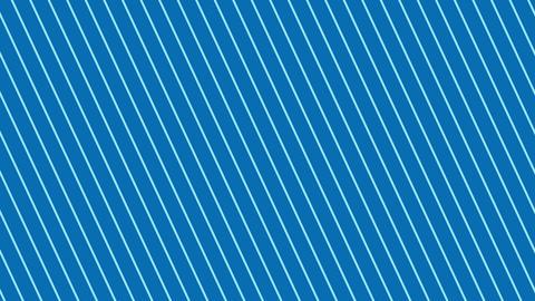 斜めのストライプ 青濃い 極細 ループ CG動画