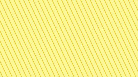 斜めのストライプ 黄色薄い 極細 ループ CG動画