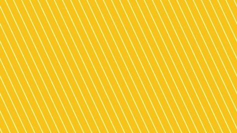 斜めのストライプ 黄色濃い 極細 ループ CG動画