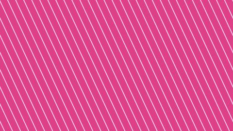 斜めのストライプ ピンク濃い 極細 ループ CG動画