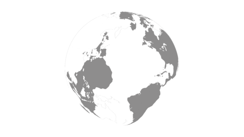 Rotate globe clean Animation