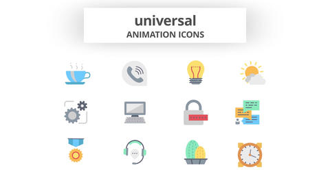 Universal - Animation Icons After Effects Template