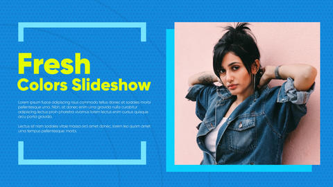 Fresh Slideshow After Effects Template